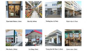 Tiện ích dự án Vista Limassol