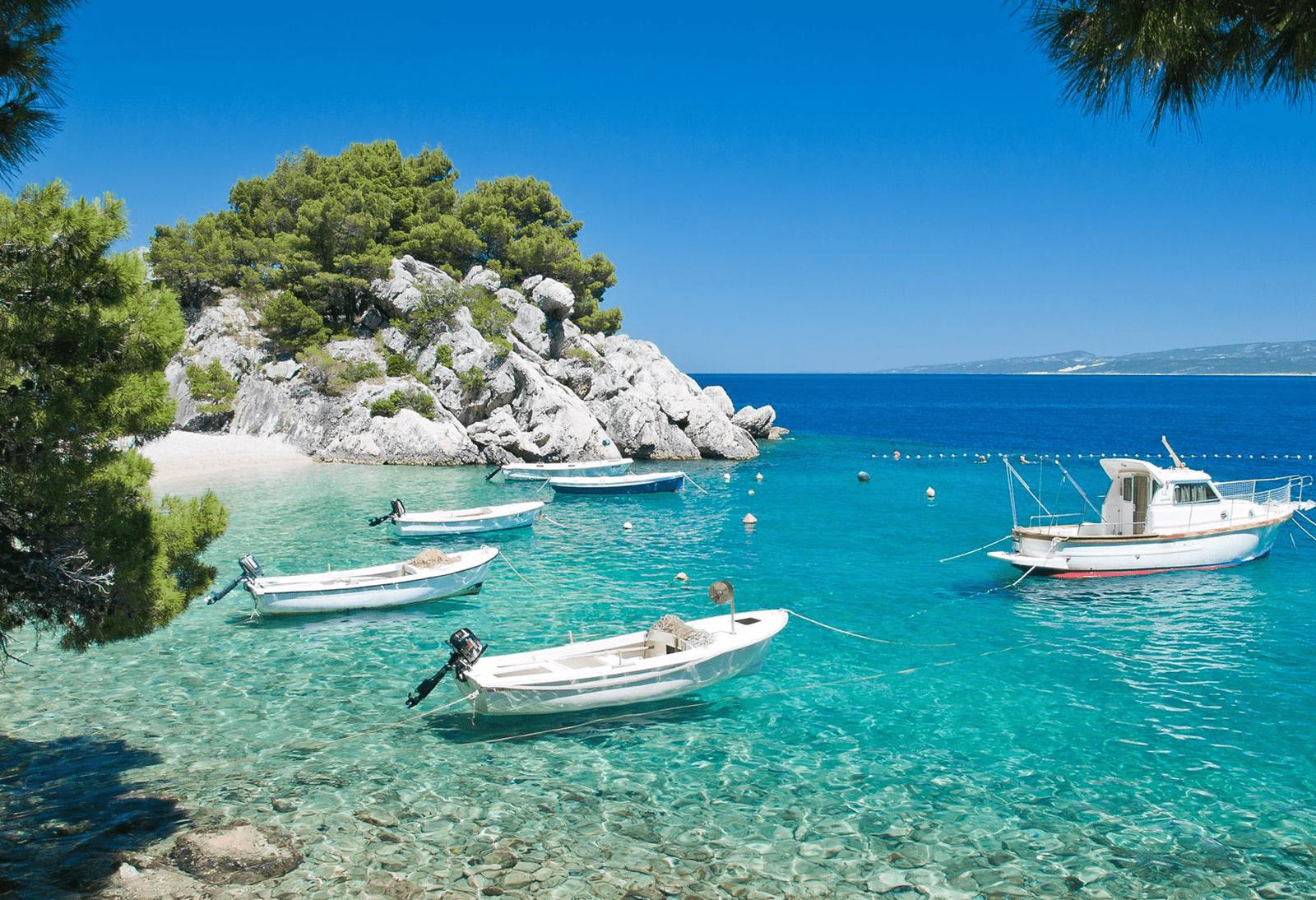 Síp nổi tiếng với những vịnh biển tuyệt đẹp.