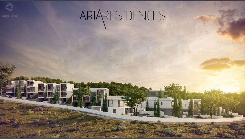 Toàn cảnh biệt thự Aria Residences Đảo Síp