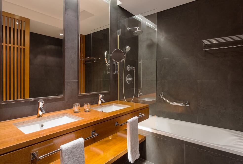 Thiết kế nhà vệ sinh dự án căn hộ nghỉ dưỡng Sheraton Cascais Resort