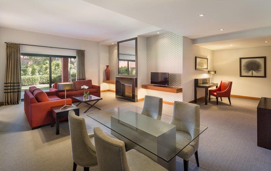 Nội thất bên trong dự án căn hộ nghỉ dưỡng Sheraton Cascais Resort