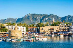 Cảnh đẹp của vùng quê ven biển Síp.