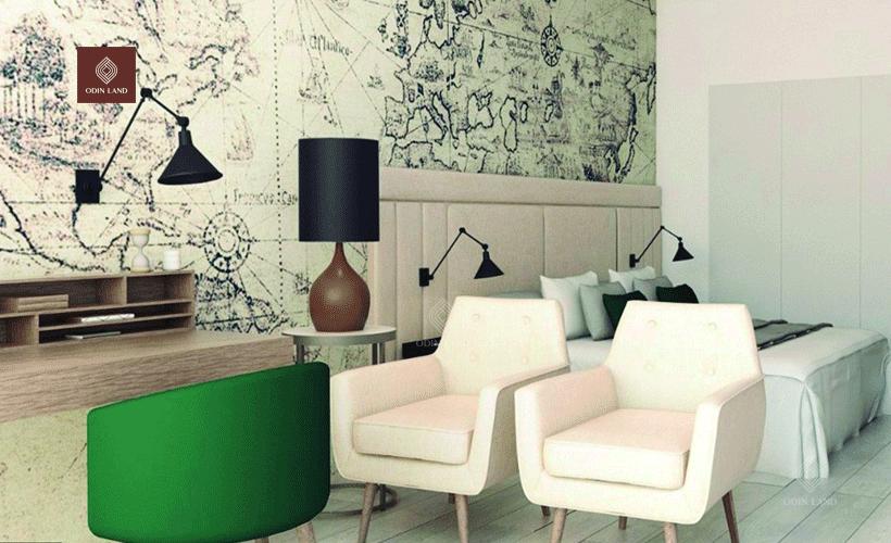 Thiết kế phòng khách sang trọng và tiện nghi