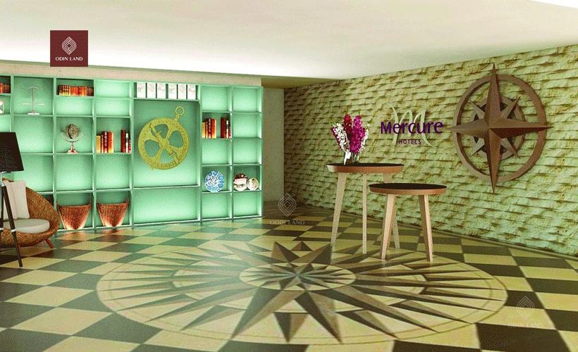 Thiết kế siêu sang trọng của khách sạn hàng đầu.