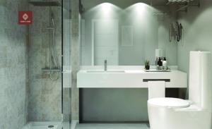 Phòng tắm hiện đại với thiết kế đẳng cấpPhòng tắm hiện đại với thiết kế đẳng cấp