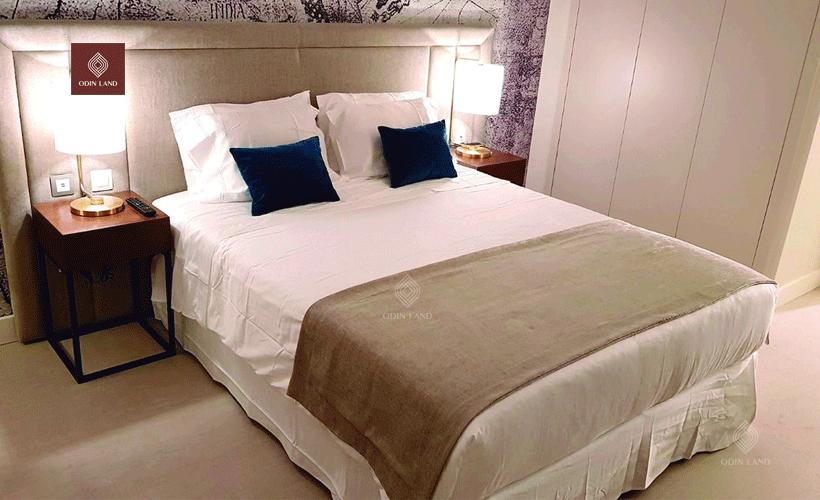 Thiết kế phòng ngủ của dự án