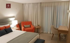 Thiết kế phòng ngủ sang trọng tại dự án.