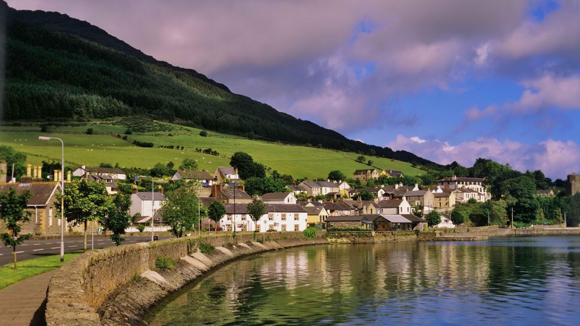 Cảnh quan tuyệt đẹp của vùng quê Ireland.