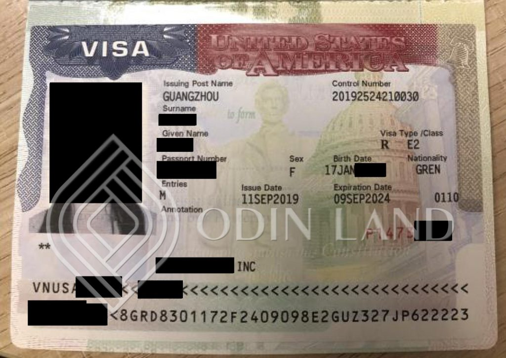 grenada passport