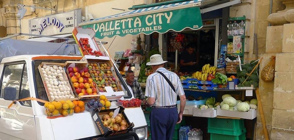 chi phí sinh hoạt tại Malta